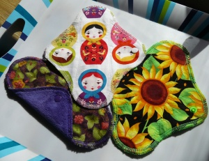 Audrey's pantyliner set