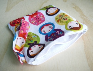 Babushka Double Compartment Wetbag