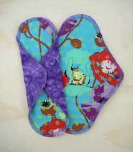 "23cm/9"" Purple Rain, Cotton Flannel facing"